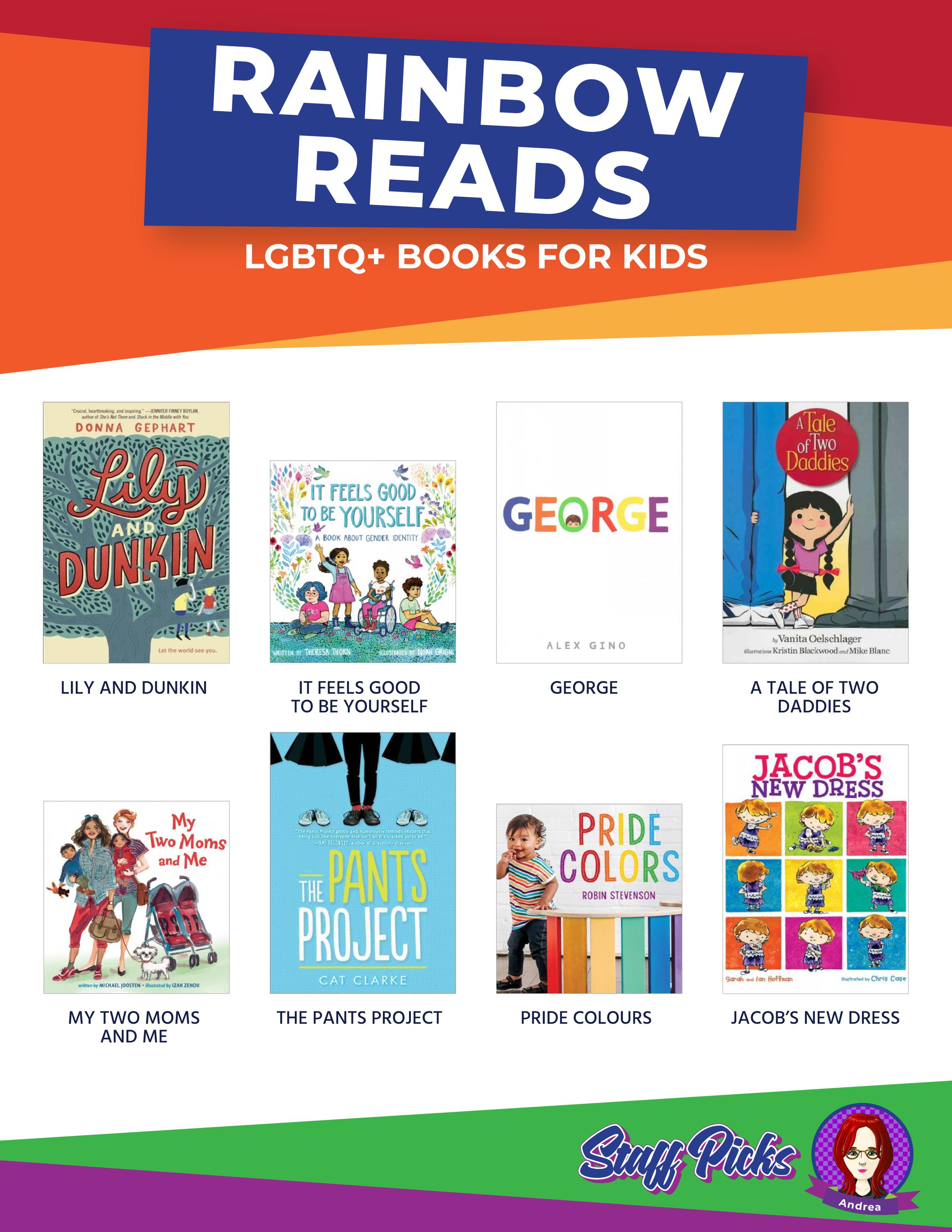 Novels Rainbow Reads PDF